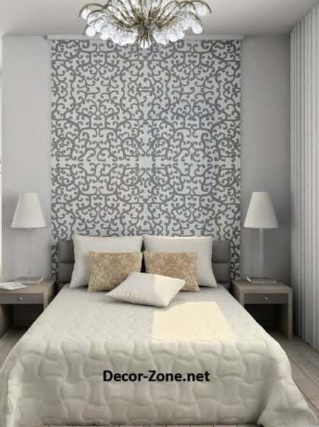 Bed headboards : ideas to make a DIY headboard with wallpaper   HEADBOARDS   Headboards for beds ...