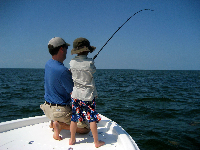 angler in training