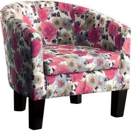 Alton Furniture Fiora Barrel Chair, Contemporary Accent Chair ...