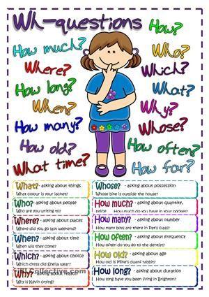 Questions - poster worksheet - Free ESL printable worksheets made ...