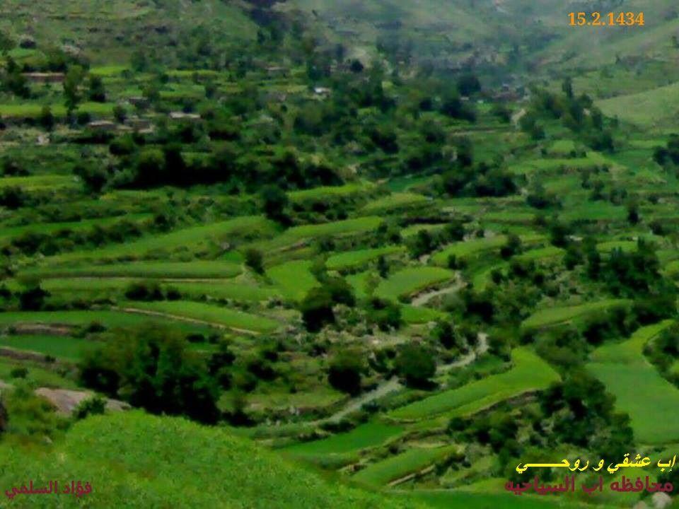 صوره خلابه بجمالها الطبيعي وادي بناء اليمن محافظه اب