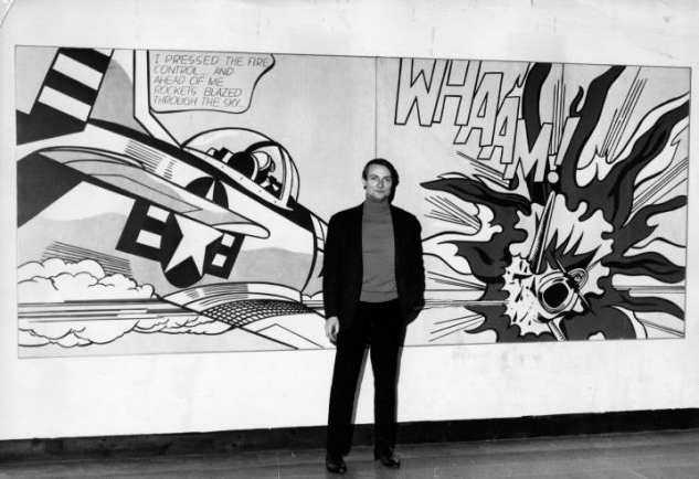 """The one thing everyone hated was commercial art; apparently they didn't hate that enough, either."" -Roy Lichtenstein"