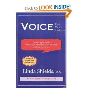 The Voice That Means Business By Linda Shields Lending Library