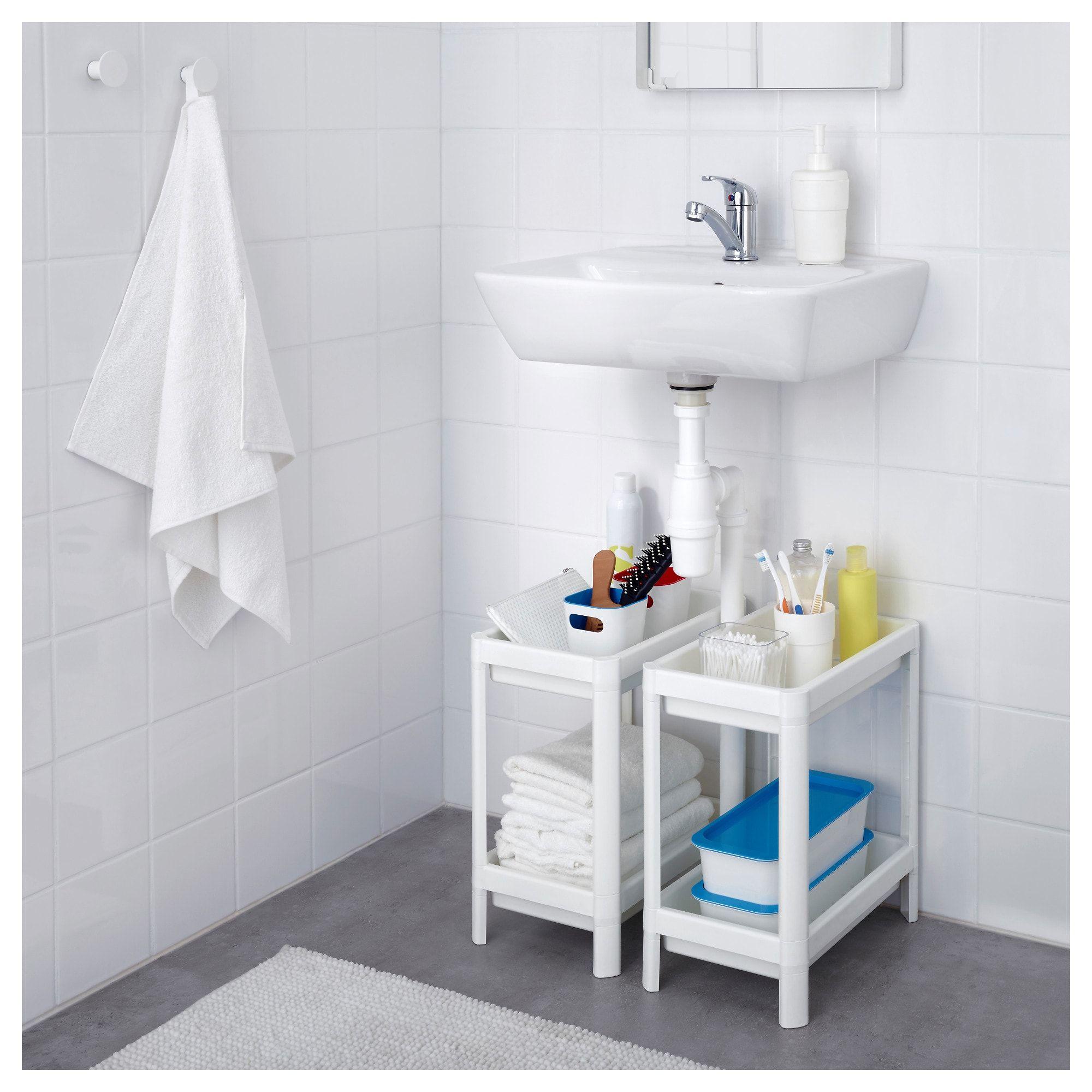 VESKEN white, Shelf unit, 36x23x40 cm IKEA Under
