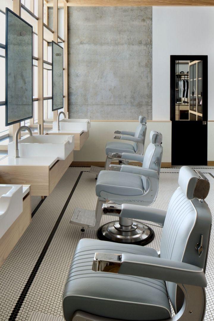 Akin Barber Shop by Zak Hoke, Dubai – UAE » Retail Design ...
