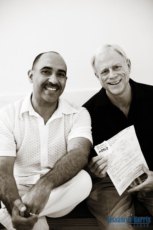 Defining Marriage Nov 6, 2008....#InterracialSameSex.... #HMWM Richard and Jaime, San Francisco City Hall Aug 5, 2008