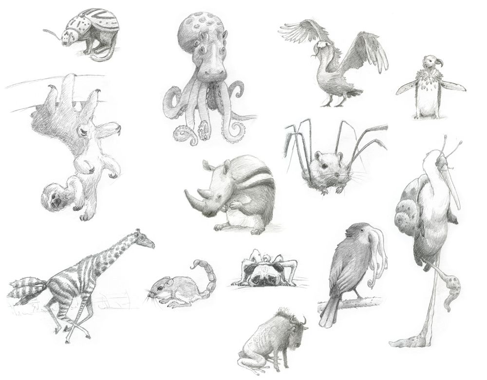 Mixed Animals With Images Animals Animal Sketches Dog Treats
