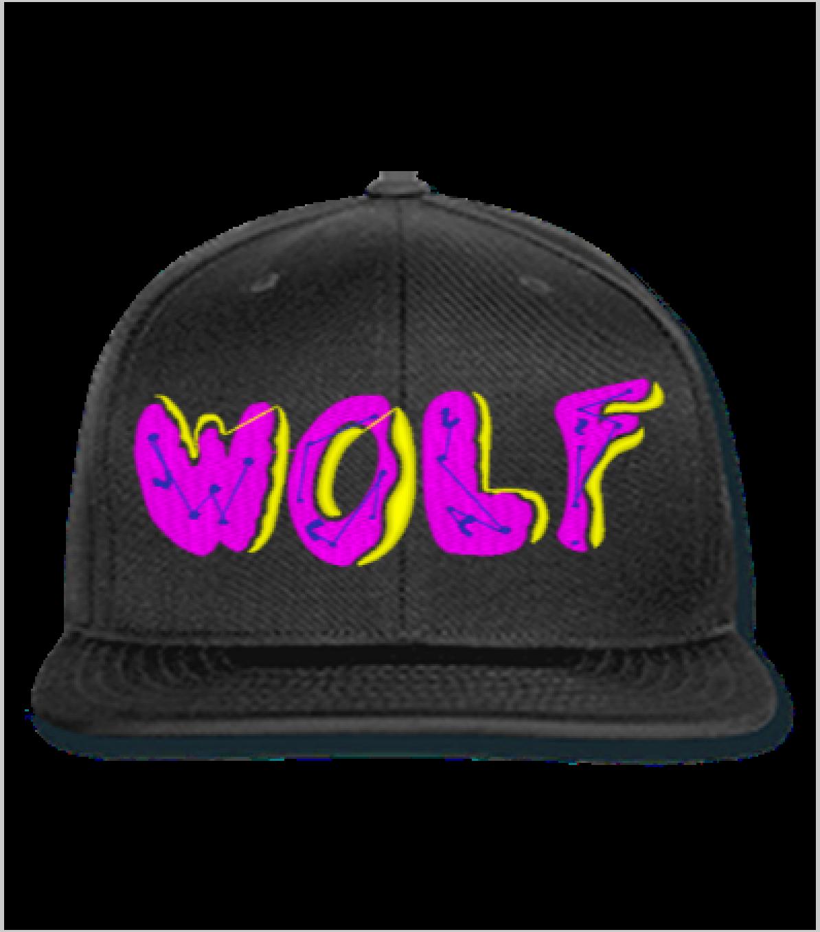 Wolf Snapback,Hat,
