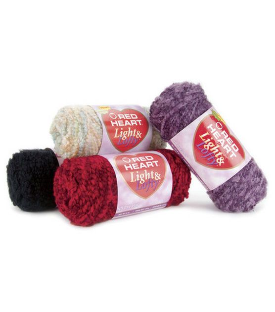 Red Heart Light And Lofty Yarn, , hi-res | Crafts | Pinterest