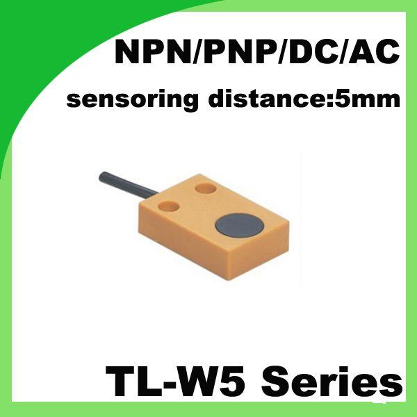 TL-W5 non-flush 2/3 wire NO / NC Square inductive proximity switch ...