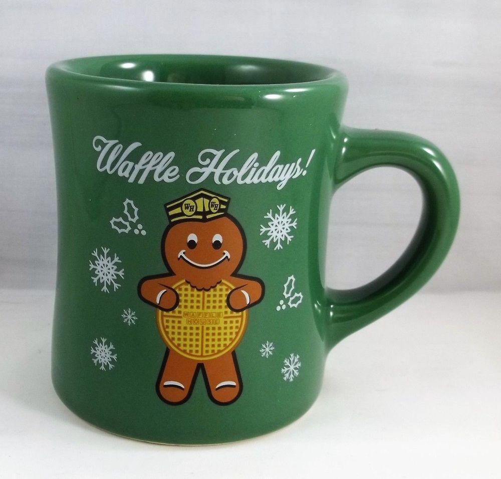WAFFLE HOUSE COFFEE MUG 2016 CHRISTMAS HOLIDAY NEW