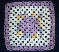 Great Website to find crochet and knit granny square patterns
