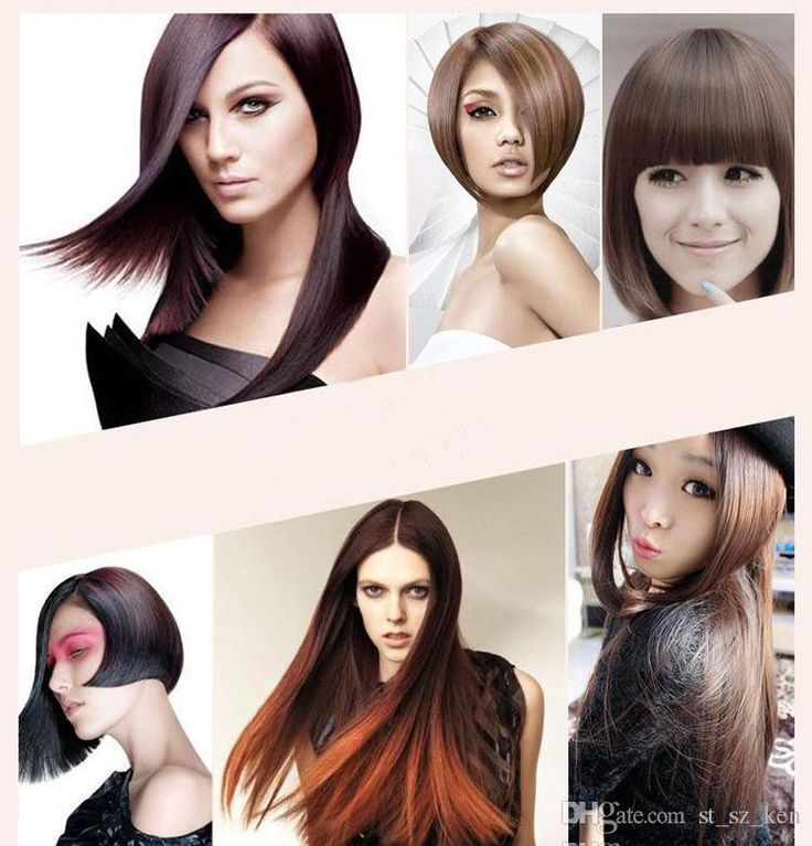 12 beautiful hairstyles for flat ironed hair cute