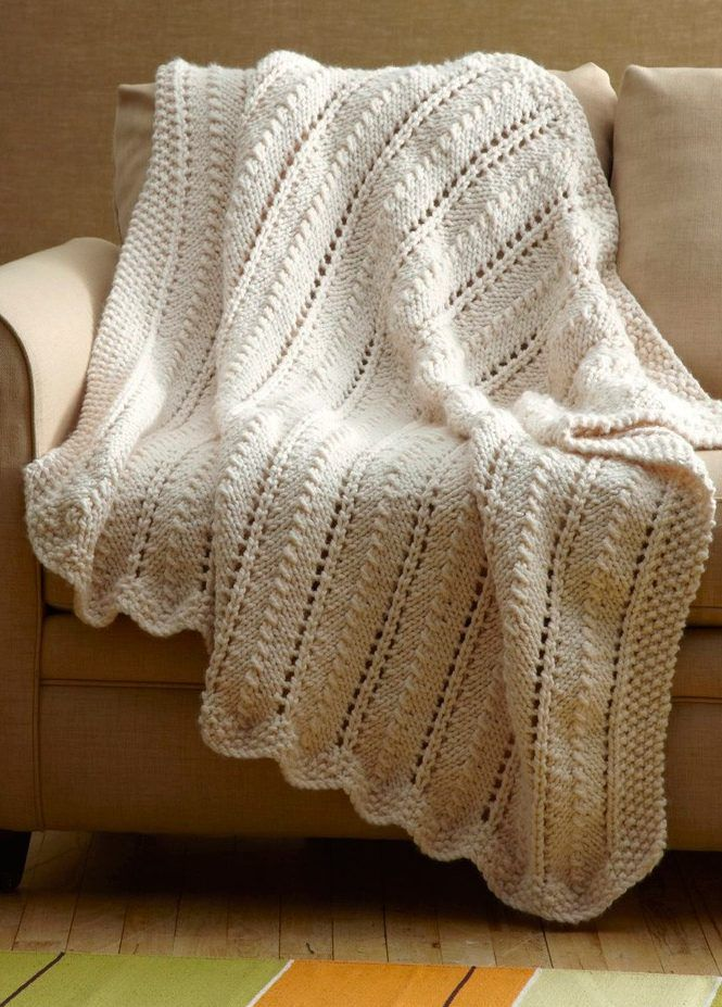 Easy Afghan Knitting Patterns | Pinterest | Super bulky yarn ...