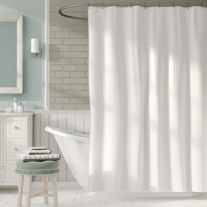 2 In 1 Single Shower Curtain Curtains Tiny House Bathroom Shower