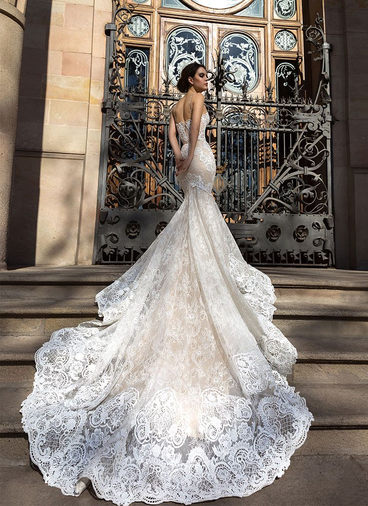 Crystal Design Wedding Dresses - Barcelona Campaign Bridal Collection #weddingdress #weddinggown #bridalgown