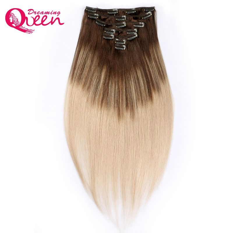 Free Shipping Buy Best Dreaming Queen Hair Clip In Straight Hair