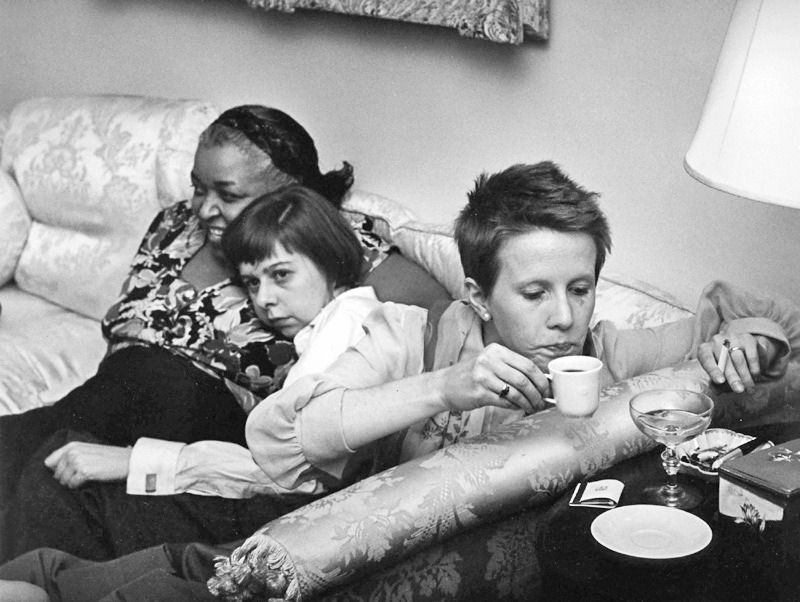 Ethel Waters Carson Mccullers And Julie Harris At The Party Celebrating The Premiere Of The Member Of The Wedding A Ethel Waters Julie Harris American Author