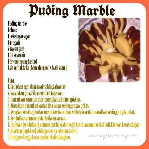 Puding marble