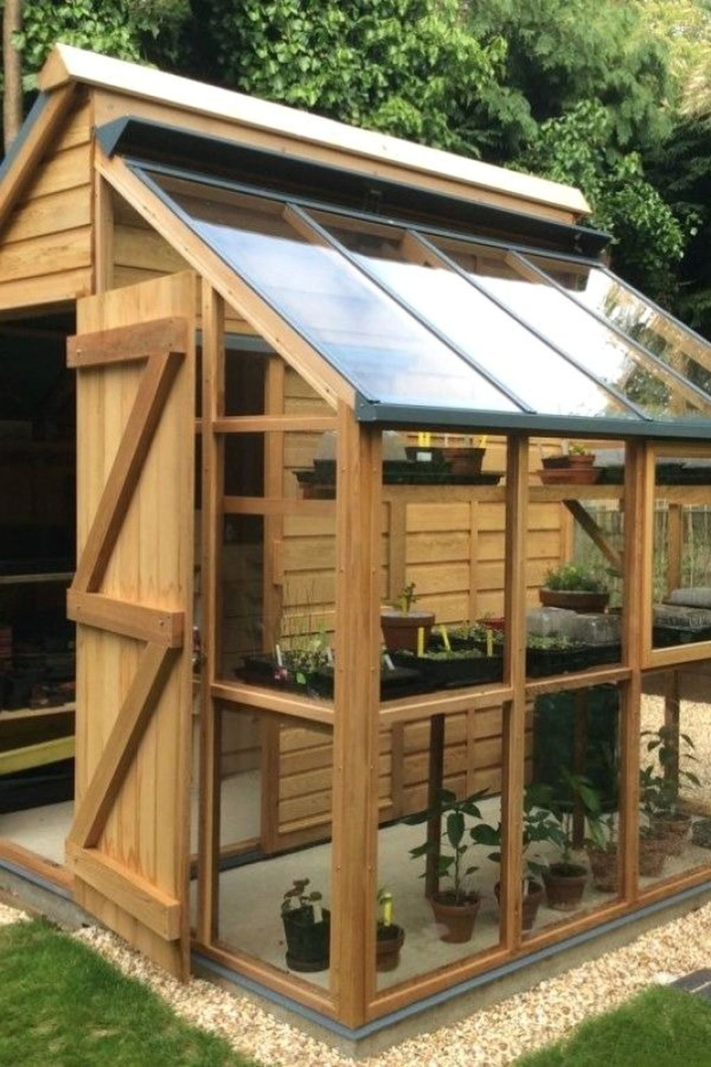 For The Traditional Gardeners Amongst Us A Garden Shed Is Wooden At Least 6 Feet By 4 Feet And Probably Bigger With A Backyard Greenhouse Shed Shed Design Backyard greenhouse garden shed
