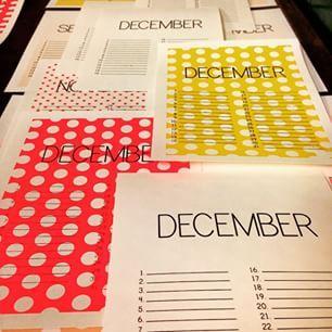 Welke #december moet het worden? #verjaardagskalender #nieuwecollectie