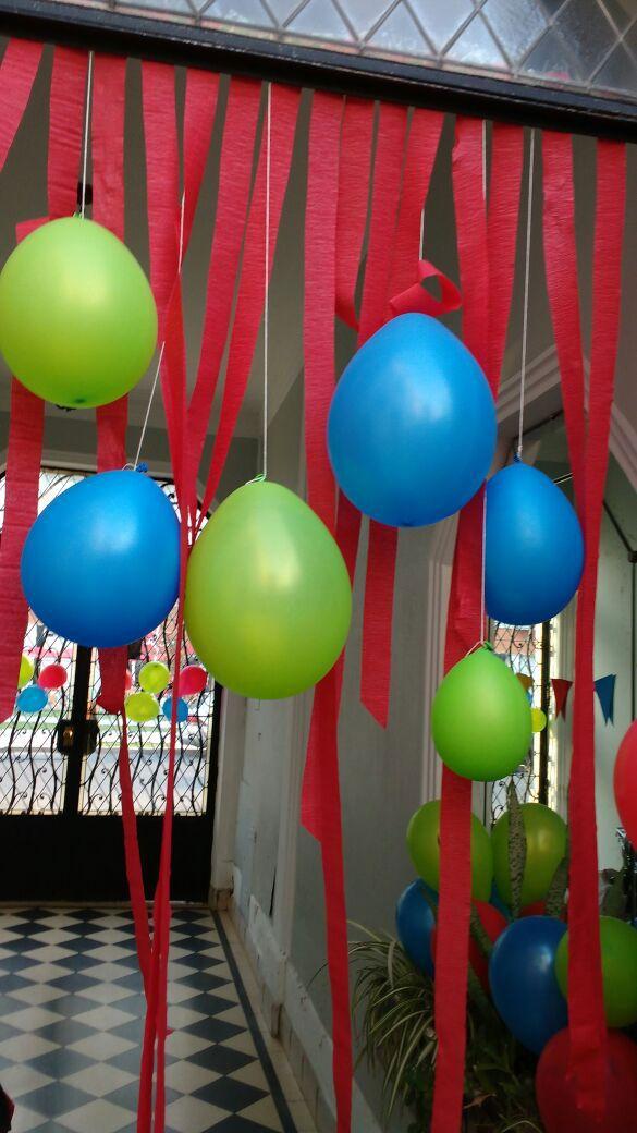 33++ Decoracion con globos y cintas trends