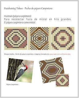 Tejidos wichi punto yica o hilu yicas motivos tejidos joyer a textil y puntos crochet - Informacion sobre la fibra vegetal ...