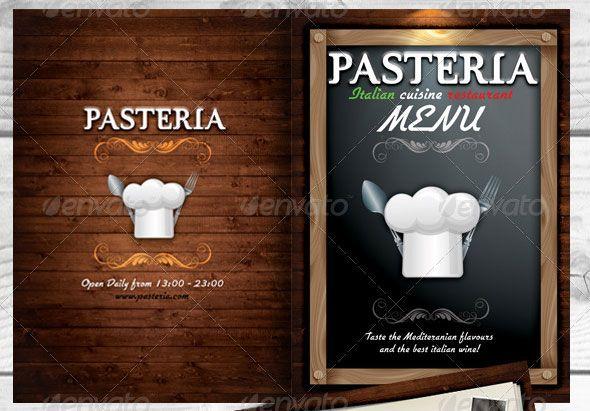 Creative Restaurant Menu Templates Psd  Indesign  Graphic