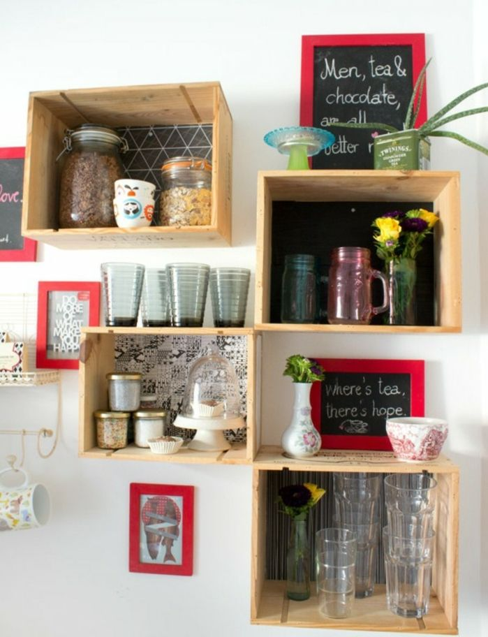 21+ Fabriquer une etagere de cuisine ideas