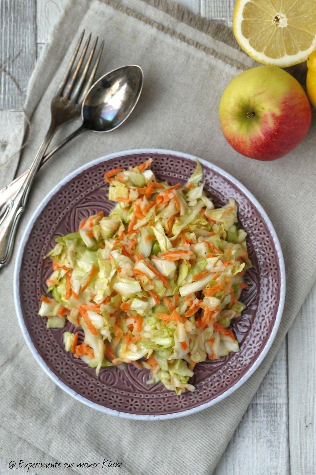 Spitzkohl-Möhren-Salat – Experimente aus meiner Küche
