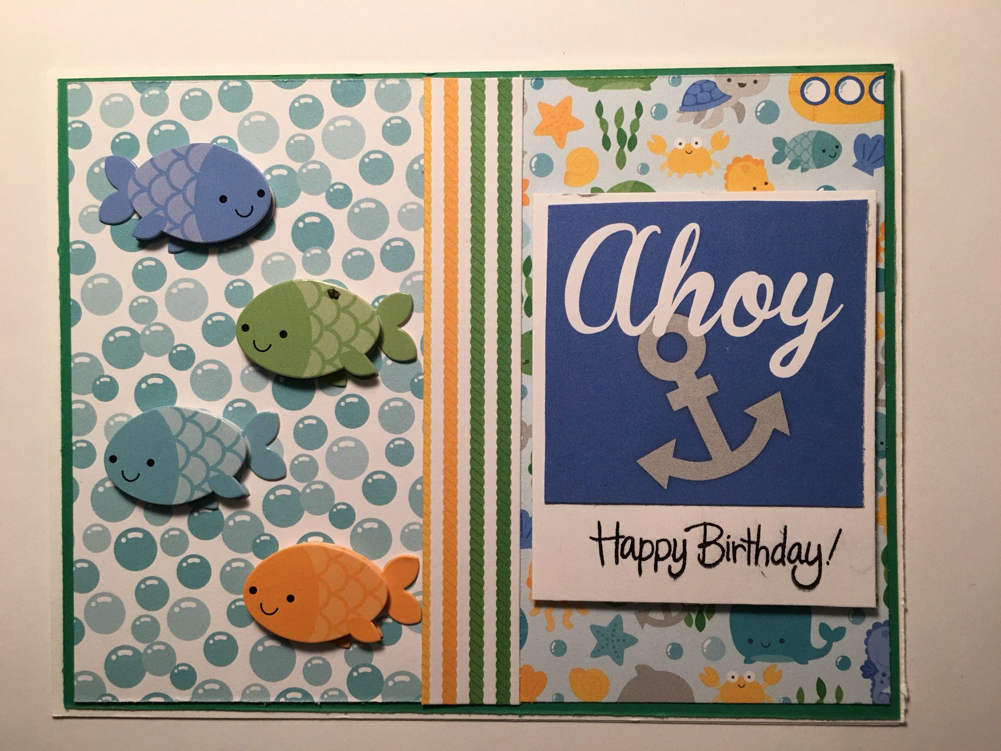 Cby Happy Birthday Greeting Card Child Made 13 Cards From The