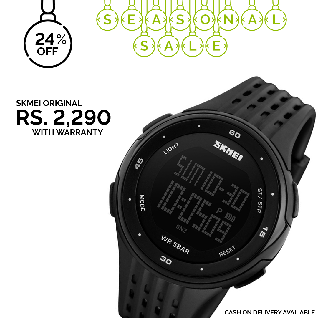 7f47f7b54d3 24% discount on SKMEI watch with 1 year warranty.⠀⠀ ⠀⠀ Discounted price   2290  ⠀⠀ ⠀⠀⠀ Choice.lk is an authorized dealer of Skmei in Sri Lanka.