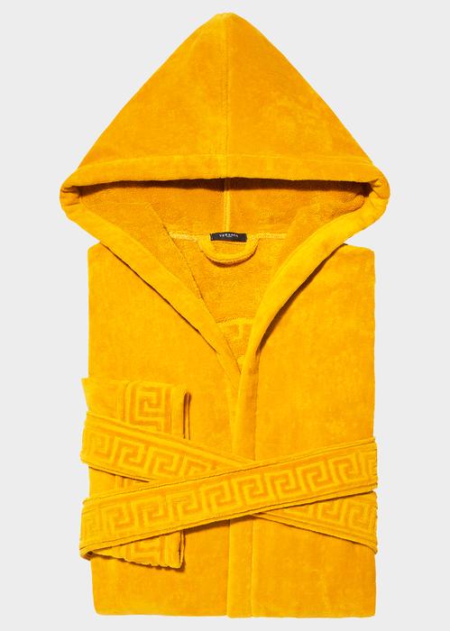 VERSACE Medusa Hooded Bathrobe.  versace  cloth  medusa hooded bathrobe 564124720