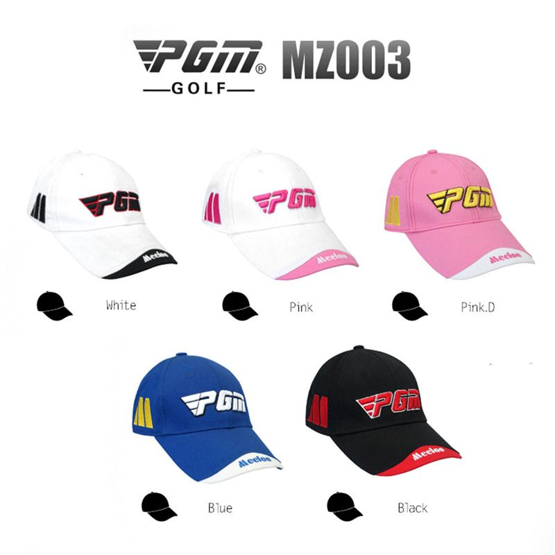 bfc86dbdc5669 PGM Brand Golf Hat Golf Caps Unisex Cotton Golf Sunscreen Hat Embroidery  Trademark Top Cap Golf