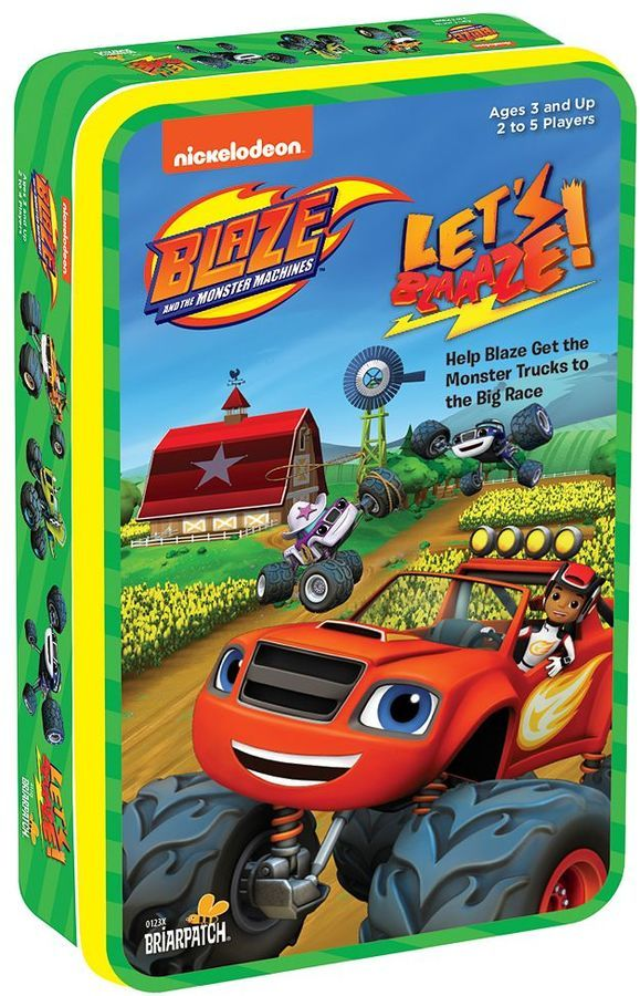University Games Blaze And The Monster Machines Let S Blaaaze