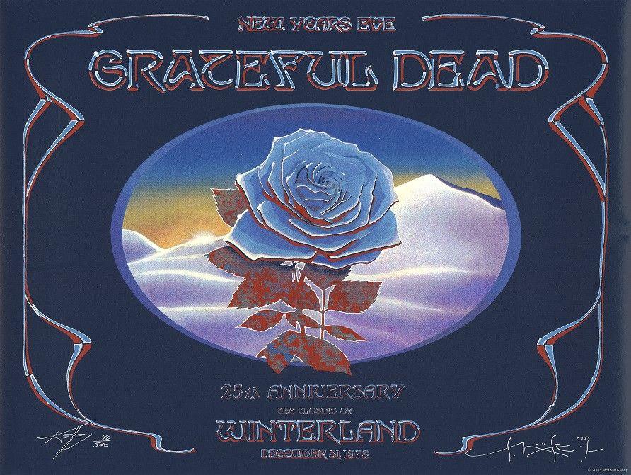 Dec. 31, 1978 Grateful Dead 25th Anniversary The