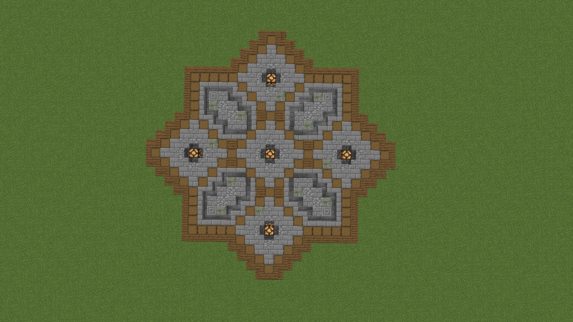 Floor Design For Plaza Minecraft Designs