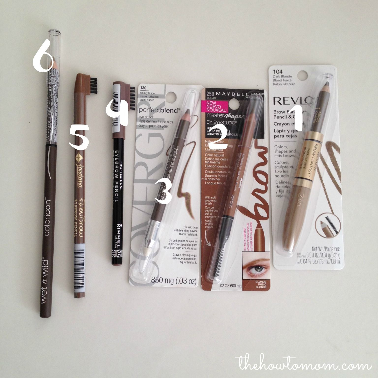 Makeup Tips Best Drugstore Brow Pencil For Blondes Fancy Claws