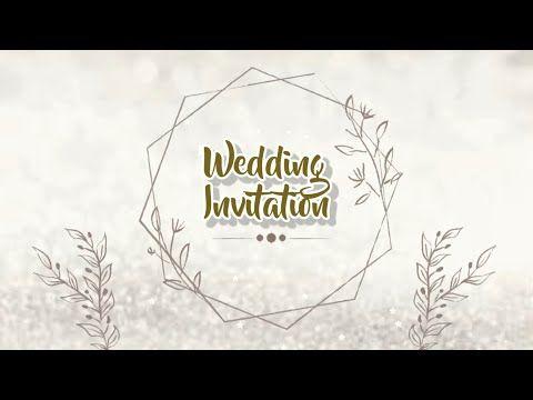 Template Undangan Digital Kosong Kekinian Wedding Invitation Youtube Undangan Pernikahan Lucu Undangan Pernikahan Gratis Contoh Undangan Pernikahan