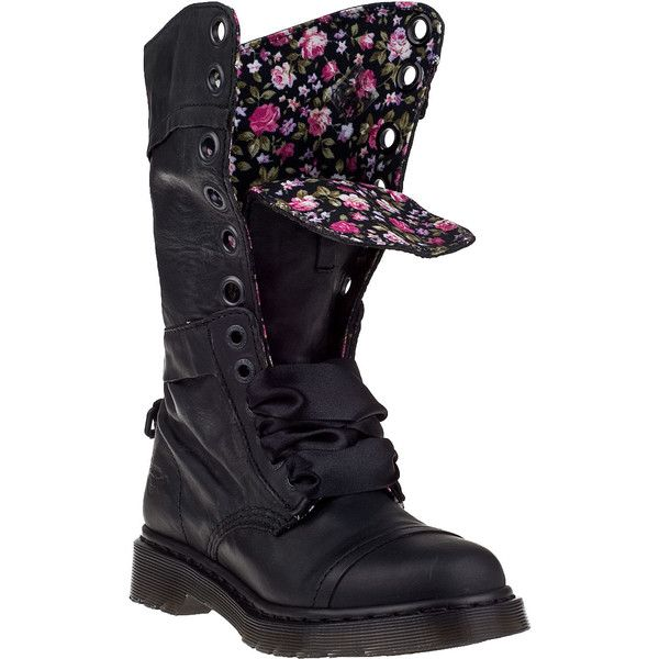 02689f7c4c9 DR. MARTENS Triumph-1914 Tall Boot Black Leather ( 99) ❤ liked on ...