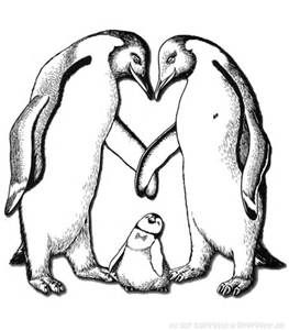 Realistic Penguin Coloring Pages Bing Images Horse Coloring