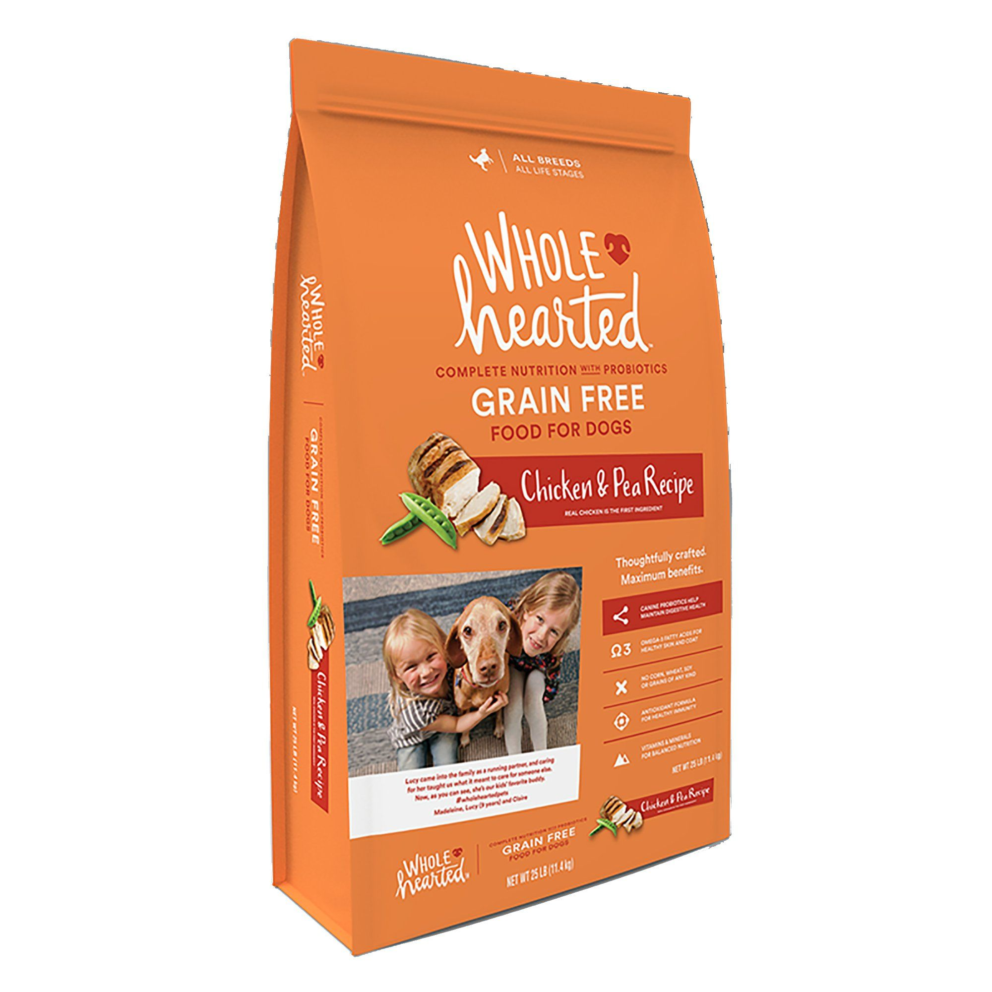 Wholehearted Grain Free All Life Stages Chicken Amp Pea