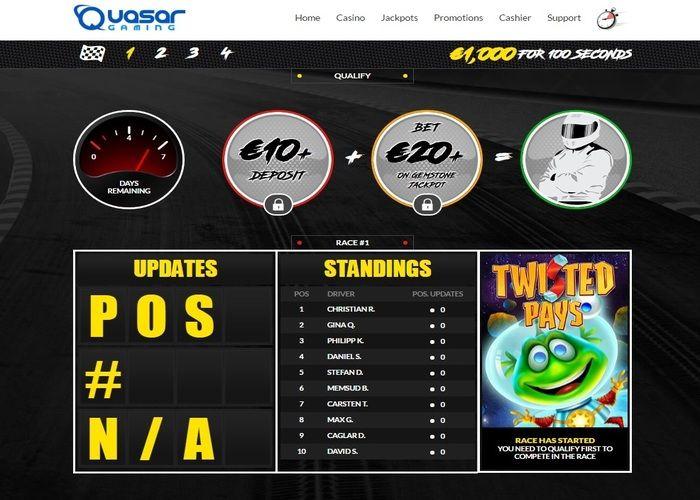 Quasar Gaming Aktionscode