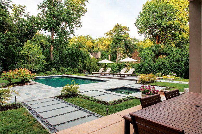 Zen garden lca award winners zen garden design for Zen pool design