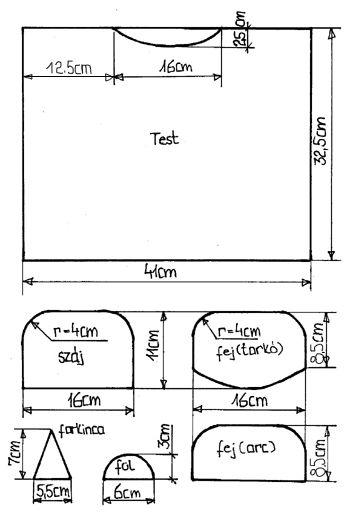 Viziló párna varrás (ingyen szabásmintával) párna szabásminta párna varrás  varrás 79e649ec26