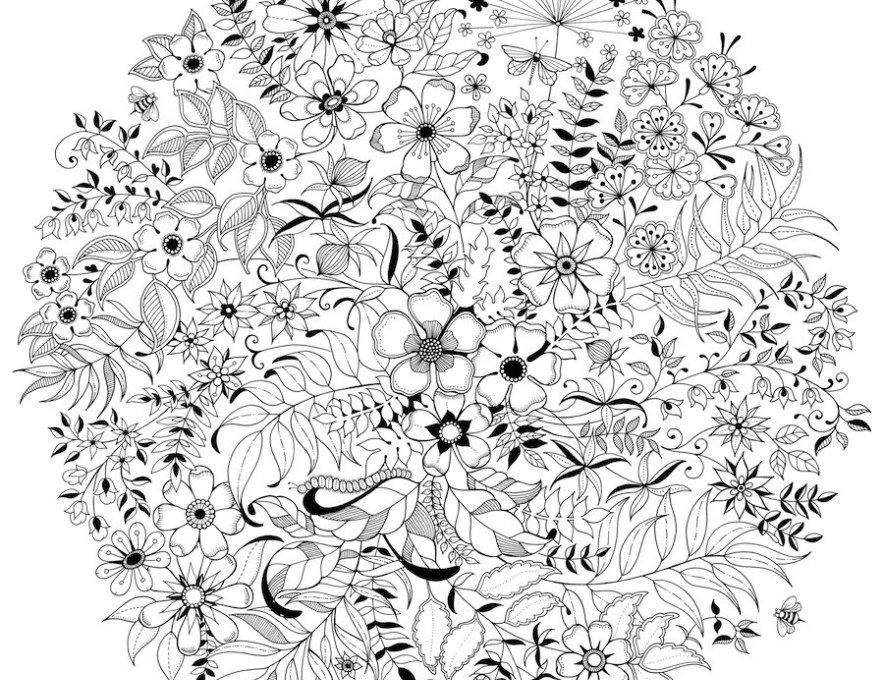 Adult Coloring Pages: Mandala Collection 5-4