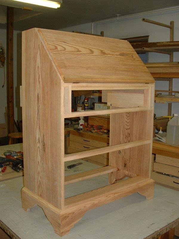 Secretary Desk Hinge Reveal Maybe Build It Yourself Diy Wood Projects Furniture Desk Plans Diy Furniture