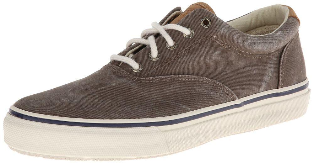 067bd8d914d Sperry Top Sider Men s Striper Ll Cvo Fashion Sneaker Chocolate 9 M ...