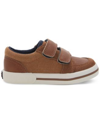 Elements by Nina Little Boys' or Toddler Boys' Donald Casual Sneakers - Brown 10