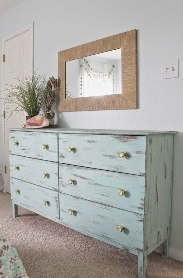 Furniture Awesome Distressed Bedroom Ideas Using Teak Wood Material Properties With White Paint Colors Also Br Cabinet S Under
